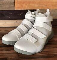 Nike LeBron Soldier XI SFG 897646-005 Light Bone Stucco Men's Shoes SIZE 18