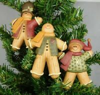Set of 3 different gingerbread ornaments - New by Blossom Bucket #51806