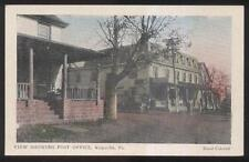 1910s POSTCARD KULPSVILLE PA/PENNSYLVANIA HOUSE POST OFFCIE AND GENERAL STORE