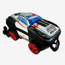 KIDS 3D TRAVEL LUGGAGE, SCHOOL, CARRY ON BAG POLICE CAR