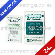 Alco Screen - 2 Minute alcohol test strip - 24/box - alcoscreen - saliva alcohol