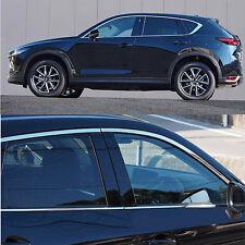 SUS304 Stainless Steel Window Molding Trim Upper For Mazda CX-5 KF 2ND Gen 2017