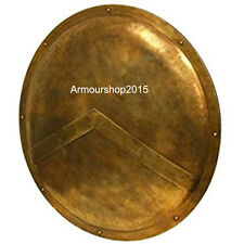 "300 Spartan Shield Full Size Replica 36"" - Official Replica - Antique Brass"