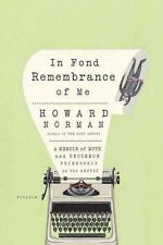 In Fond Remembrance of Me (Paperback or Softback)