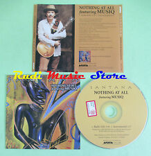 CD Singolo SANTANA Nothing at all featuring musiq 2002 PROMO no mc lp dvd (S12)
