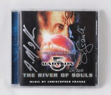 BABYLON 5 THE RIVER OF SOULS CD SIGNED BY CHRISTOPHER FRANKE J M STRACZYNSKI