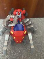 Playskool IMAGINEXT MARVEL SUPERHERO SQUAD SPIDER-MAN SPIDER BOT WITH THANOS