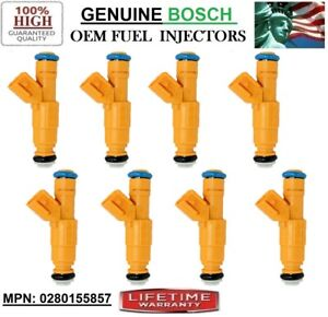 Ford Crown Victoria 4.6L V8_1999-2000_Fuel Injectors Set/8 Bosch <PN:0280155857>