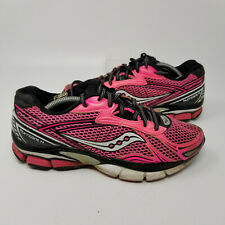 Saucony Hurricane 14 Pink Athletic Running Tennis Shoes Sneaker Women Size 7