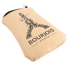 Bourjois Paris Padded Soft Leather Sunglasses Zip Case Cover - New