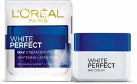 L'OREAL PARIS White Perfect Day Cream SPF17 PA++ Whitening + Even Tone 50ML FS