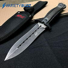 MTECH FIXED BLADE TACTICAL HUNTING SURVIVAL KNIFE Military Combat Dagger +SHEATH