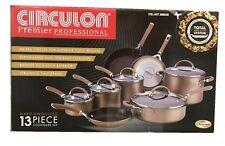Circulon® Premier Professional Hard Anodized Nonstick 13Pc Cookware Set | Brown
