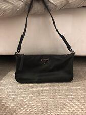 Authentic Prada Nylon Hobo Shoulder Bag Black