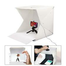 LED Light Box 40cm Photography Photo Studio Portable Tent Backdrop Lighting Cube