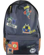 DC Comics Backpack - Batman Superman Detective Comics themed bag