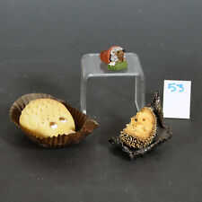New ListingInteresting Group of 3 Hedgehog Figurines