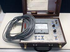 Weston Volts Meter Wood Box Vintage Untested Motorola Pt No 72d82794c01