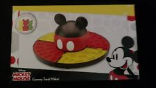 Disney Mickey Mouse Gummy Chocolate Treat Maker Silicone Molds Brand New Candy