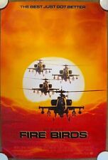 FIRE BIRDS ~ Original (1990) 27x40 Movie Poster ~ ROLLED ~  MINT CONDITION!