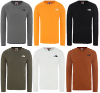THE NORTH FACE Red Box Décontracté Pull-Over T-Shirt à Manches Longues Hommes