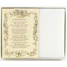 From the Bride to her Father-in-Law Wedding Handkerchief