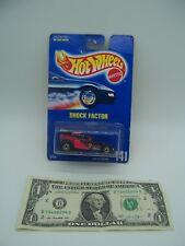 Hot Wheels Black/Pink Blue Card Shock Factor #141 - 1990