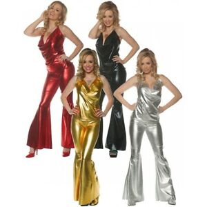 70s Disco Costume Adult Outfit Halloween Fancy Dress