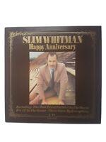 Slim Whitman Happy Anniversary LP United Artists UAS29670 EX/EX 1974 Happy Anniv