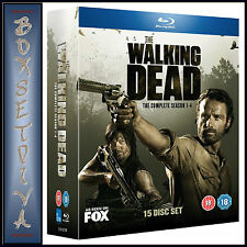 THE WALKING DEAD - COMPLETE SEASONS 1 2 3 & 4 **BRAND NEW BLU-RAY***
