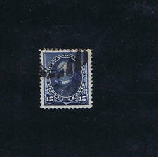SCOTT# 227 USED 15 CENT HENRY CLAY 1890 GRADED 95J PSAG CERT!  JUMBO