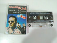 Seguridad Social Quiero Tener tu Presencia Exitos - Cinta Tape Cassette