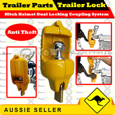 Trailer Lock Hitch Helmet Dual Locking Coupling System JET-SKI BOAT BOX TRAILER