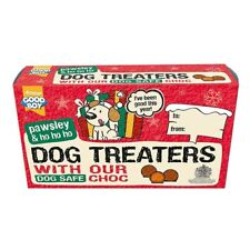 Good Boy Christmas Dog Treaters Chocolate Covered Biscuit Balls Treats NEW