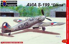 Avia S-199 'Diana' (Checoslovaca MKGS) 1/72 KP/Kovozavody Prostejov