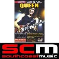 NEW LICK LIBRARY LEARN TO PLAY QUEEN DVD ELECTRIC GUITAR TUITIONAL TUTORIAL