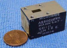 MICROWAVE ASSOCIATES MA8K547-S10 SN12E 8804 MICROWAVE PART.