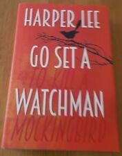 Go Set a Watchman-Harper Lee hardback very nice condition