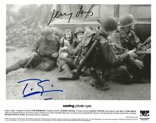 TOM SIZEMORE & JEREMY DAVIES Signed 8x10 AUTHENTIC AUTOGRAPH SAVING PRIVATE RYAN