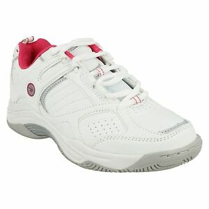 LADIES WOMENS HI-TEC NEON LACE UP CASUAL SPORTS GYM TRAINERS SHOES