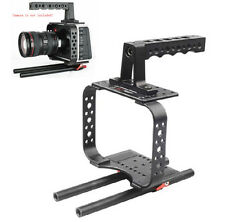 Handle Camera Cage Rig For BMCC BlackMagic Cinema Camera BMCC2.5K/4K