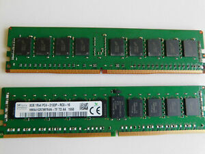 SK hynix  8 GB RAM 1Rx4 PC4-2133P DDR4 2133Hz - ECC Reg. HMA41GR7MFR4N
