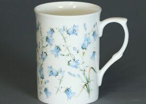 ROSE of ENGLAND BLUE BELLS Fine Bone China Cylinder Mug