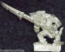 1998 Skaven Slave with Spear 4 Chaos Ratmen Citadel Warhammer Army Clanrat GW