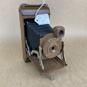 Antique No.1 Pocket Kodak Junior 1929 Brown Folding Camera