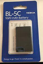 batteria nokia bl-5c 1020 mah in blister per Nokia  2112 2118, 2255  2300