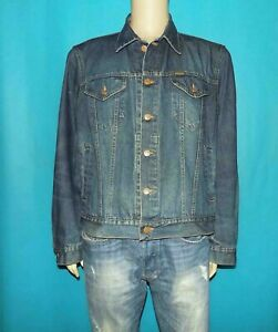 Denim Jacket Diesel Cotton 6 Pockets Size L