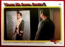 STAR TREK - MOVIE - Card #66 - BEAM ME DOWN, SCOTTY - TOPPS 1979