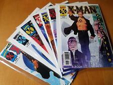 X-Man lot 63-69 (63,64,65,66,67,68,69) Near mint-