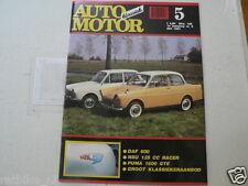 AMK 1991-05 DAF 600,NSU 125 RACER,PUMA 1600 GTE,RETROMOBILE PARIJS,SCHIEDAM